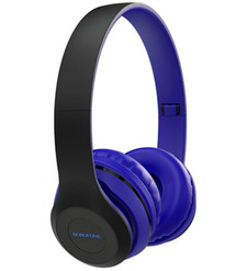 Наушники bluetooth полноразмерные Borofone BO4 Charming (blue)