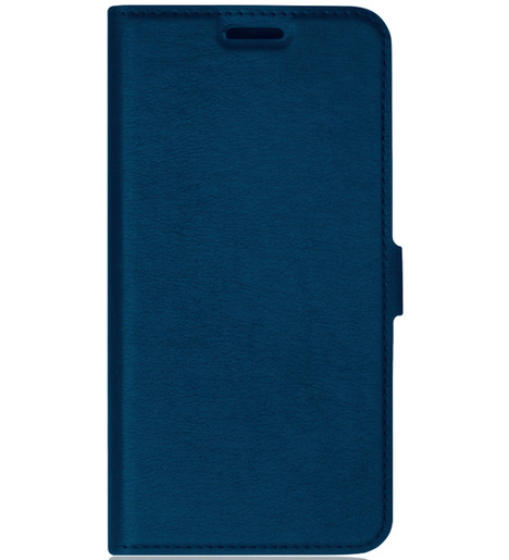 Чехол с флипом DF для Xiaomi Redmi Note 9 (blue)