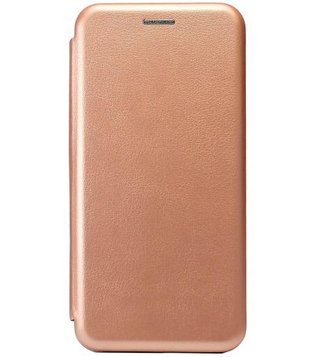 Чехол-книга с загнутыми краями Xiaomi RedMi Note 9S/Note 9 Pro 2020 (розовое золото)