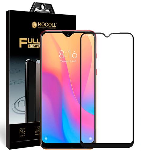 Защитное стекло Mocoll для Xiaomi Redmi 8/Redmi 8A 2.5D Черный
