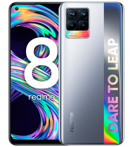 Смартфон Realme 8 6/128GB Серебристый