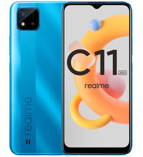 Смартфон Realme С11 2021 2/32GB Синий