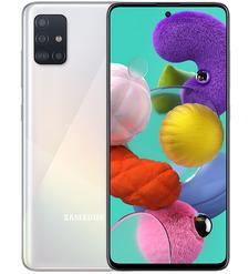 Смартфон Samsung Galaxy A51 6/128GB Белый