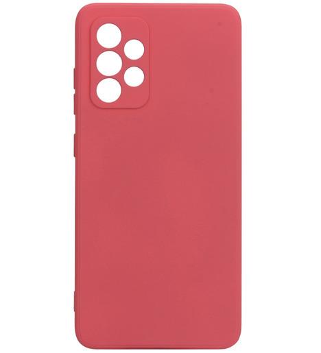 Чехол накладка G-Case Silicone для Samsung Galaxy A52 SM-A525F, красный