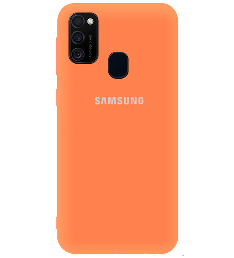 Чехол однотонный для Samsung M21/M215f/M30S абрикос