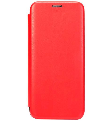 Чехол-книга с загнутыми краями Xiaomi RedMi Note 9 2020 (red)