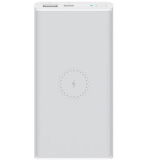 Внешний аккумулятор Xiaomi Mi Wireless 10000 mAh Серебро