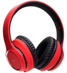 Наушники полноразмерные bluetooth Hoco W28 (red)