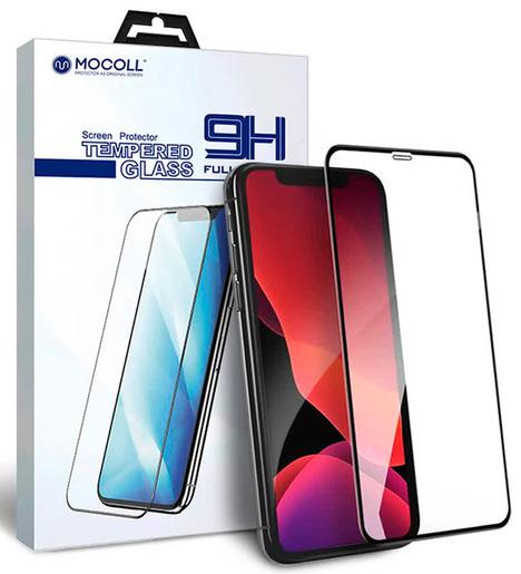 Защитное стекло Mocoll для iPhone X/iPhone XS/iPhone 11 Pro (матовое) Черный