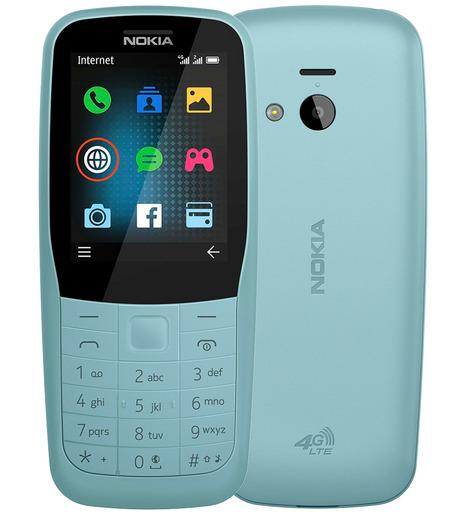 Мобильный телефон Nokia 220 DS LTE Синий