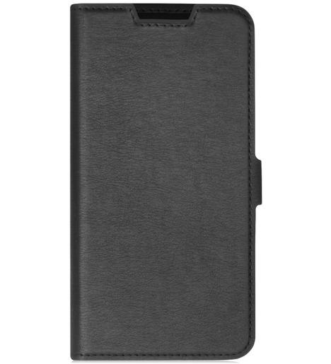 Чехол с флипом DF для Samsung Galaxy M01 (black)