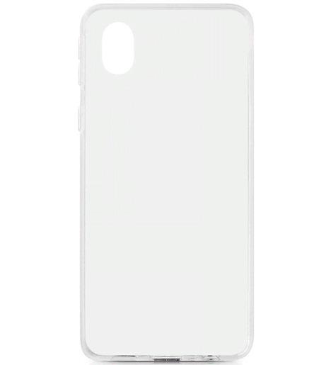 Чехол силиконовый DF для Samsung Galaxy A01 Core прозрачный