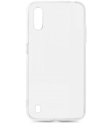 Чехол силиконовый DF для Samsung Galaxy A01 прозрачный