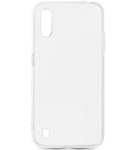 Чехол силиконовый DF для Samsung Galaxy M01 прозрачный