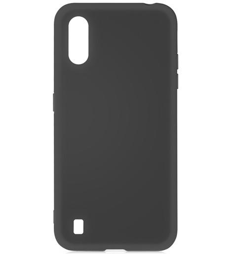 Чехол силиконовый DF для Samsung Galaxy M01 (black)