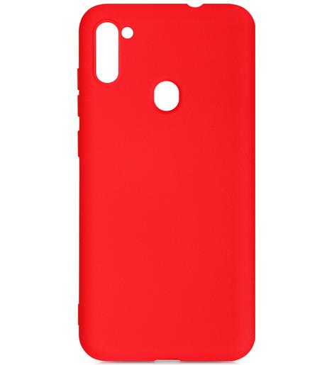Чехол силиконовый DF для Samsung Galaxy M11/A11 (red)