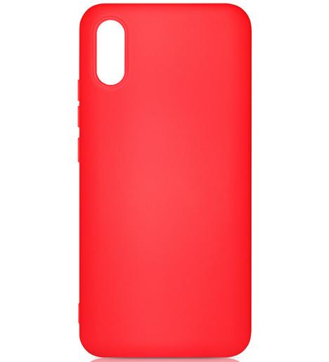 Чехол силиконовый DF для Xiaomi Redmi 9A (red)