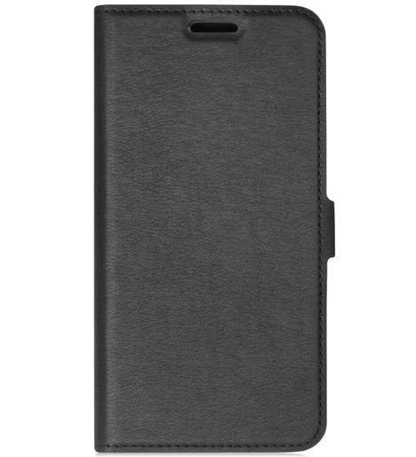 Чехол с флипом DF для Samsung Galaxy A01 (black)