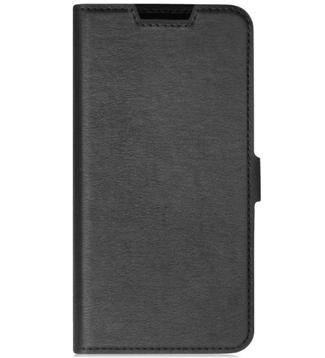 Чехол с флипом DF для Samsung Galaxy A01 Core (black)