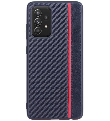 Чехол накладка G-Case Carbon для Samsung Galaxy A52 (4G) SM-A525F, черный