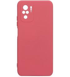 Чехол накладка G-Case Silicone для Xiaomi Redmi Note 10/Note 10S, красный
