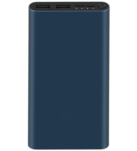Внешний аккумулятор Xiaomi 3 PLM13ZM 10000 mAh Черный