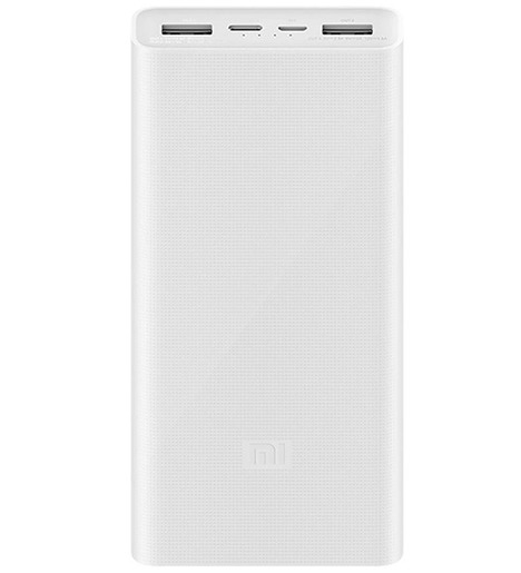 Внешний аккумулятор Xiaomi 3 PLM18ZM 20000mAh Белый