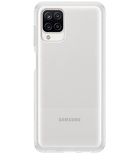 Чехол (клип-кейс) Samsung Galaxy A12 Soft Clear Cover прозрачный (EF-QA125TTEGRU)