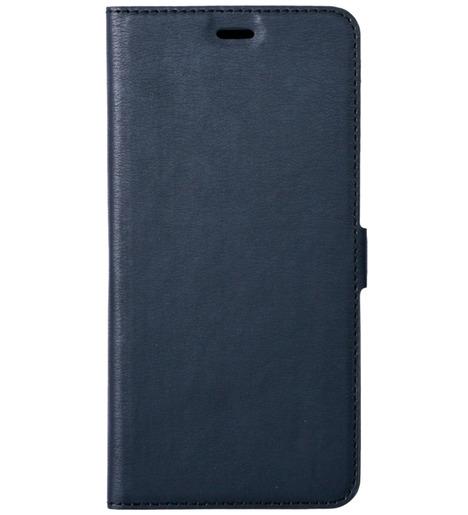 Чехол с флипом DF для Xiaomi Redmi 9 (blue)