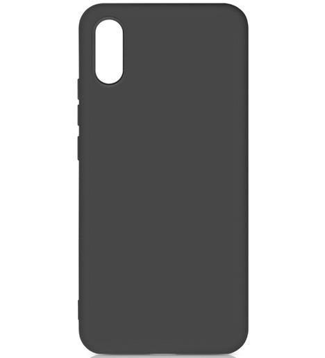 Чехол силиконовый DF для Xiaomi Redmi 9A (black)