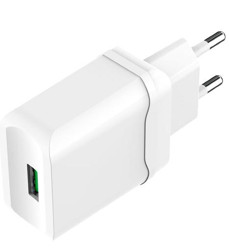 СЗУ OLMIO USB, QC3.0, 18W