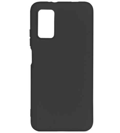 Чехол силиконовый DF для Xiaomi Redmi 9T (black)