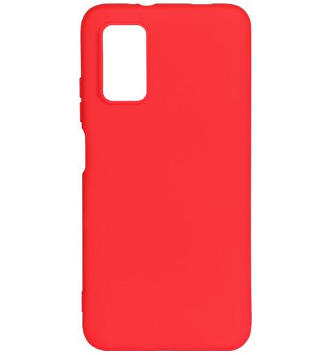 Чехол силиконовый DF для Xiaomi Redmi 9T (red)