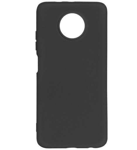 Чехол силиконовый DF для Xiaomi Redmi Note 9T (black)