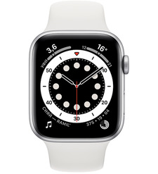 Смарт-часы Apple Watch Series 6 44mm Серебристый алюминий