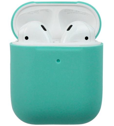 Чехол силиконовый для AirPods Soft Touch Slim (mint green)