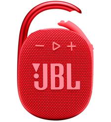 Портативная акустическая система JBL Clip 4, красный