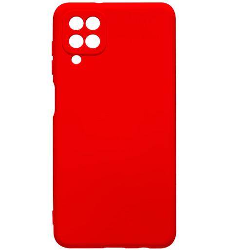 Чехол силиконовый NANO для Samsung A12 (2020) красный