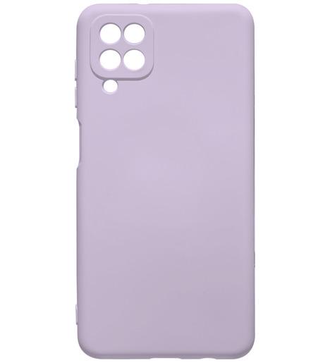 Чехол силиконовый NANO для Samsung A12 (2020) сиреневый