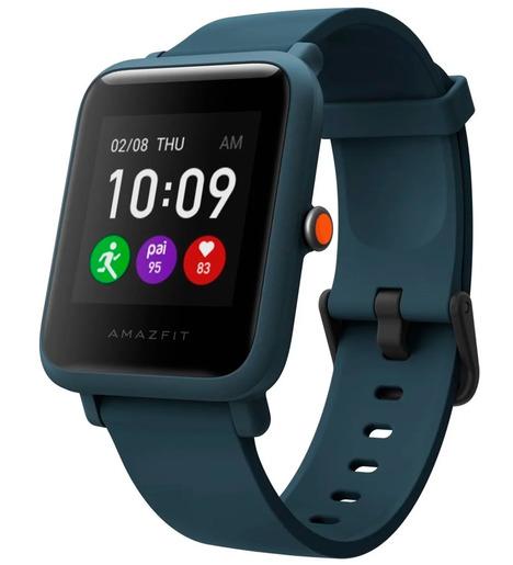 Смарт-часы Amazfit BIP S Lite Синий