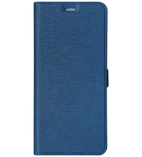 Чехол с флипом DF для Samsung Galaxy A12/M12 (blue)
