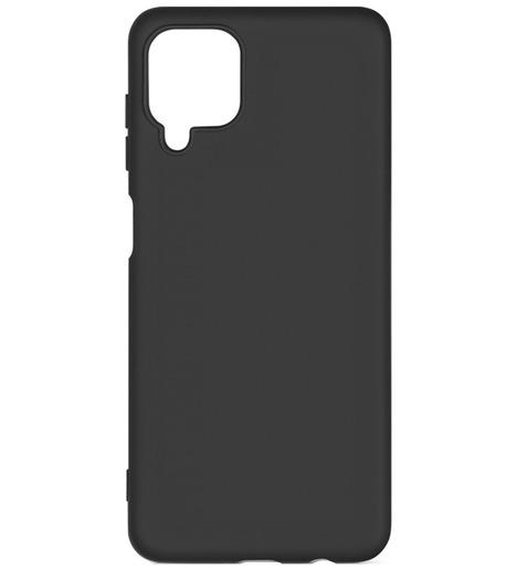 Чехол силиконовый DF для Samsung Galaxy A12/M12 (black)