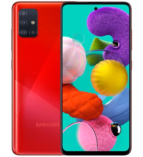 Смартфон Samsung Galaxy A51 6/128GB Красный