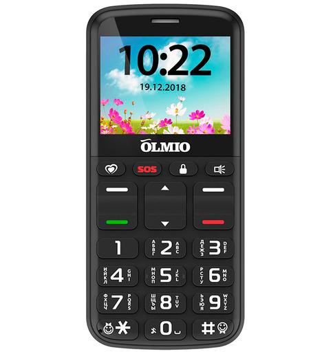 Мобильный телефон Olmio C27 Черный