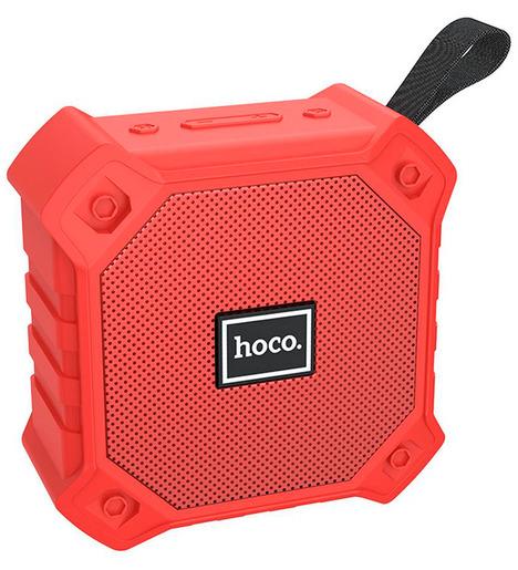 Портативная колонка Hoco BS34 Wireless sports speaker, red