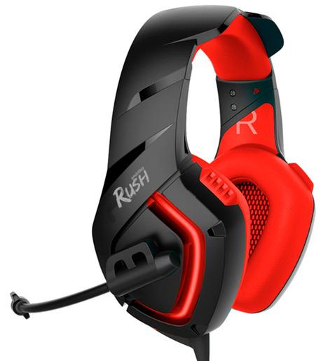 Гарнитура Smartbuy SBHG-8500RUSH SKYTHE, красная, игровая