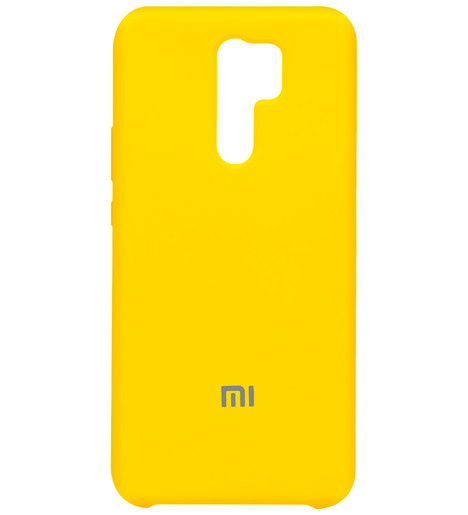 Чехол Silicone case для Xiaomi RedMi 9 2020 (yellow)