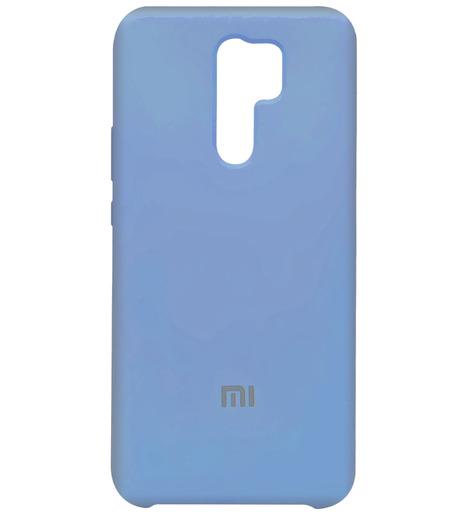 Чехол Silicone case для Xiaomi RedMi 9 2020 (lilac purple)