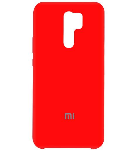 Чехол Silicone case для Xiaomi RedMi 9 2020 (red)