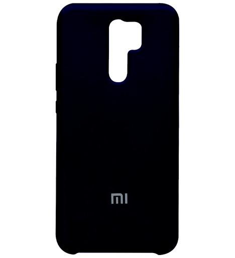 Чехол Silicone case для Xiaomi RedMi 9 2020 (black)